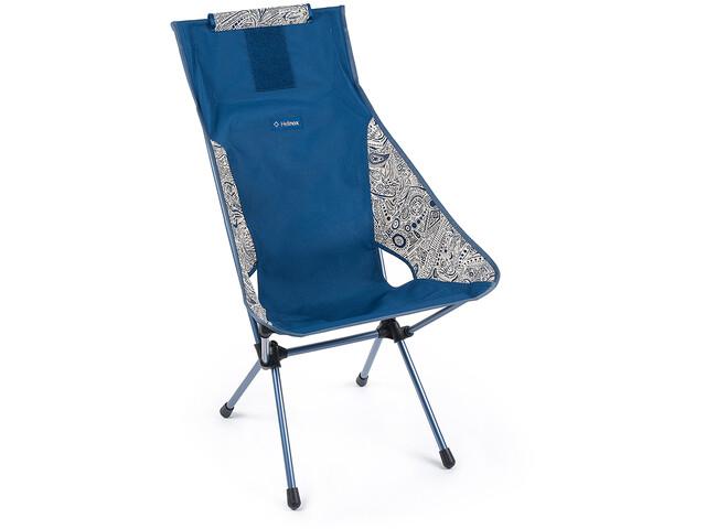 Helinox Sunset Silla, blue paisley/navy